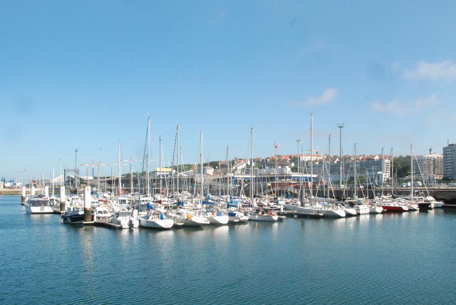 Bassin Napoléon du port de plaisance de Boulogne sur mer
