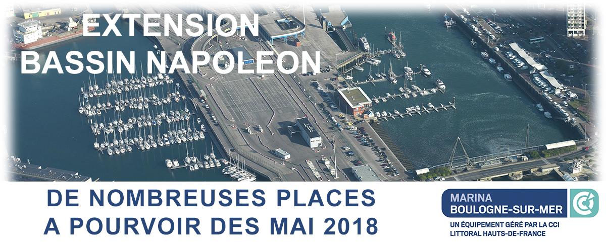 Extension Du Bassin Napoleon Des Places A Pourvoir A Partir De Mai
