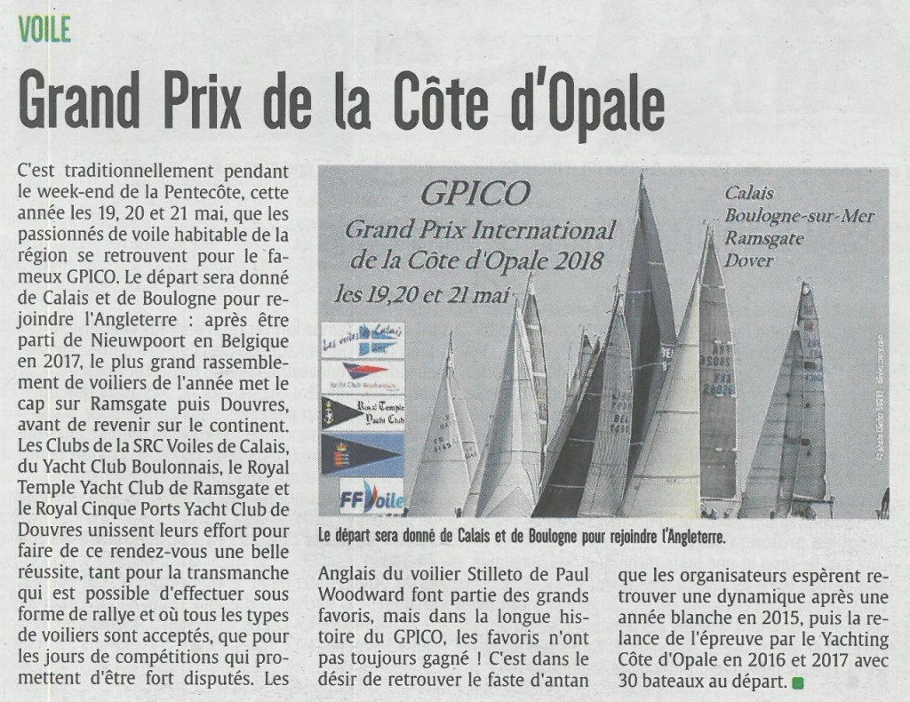 article presse GPICO sdb